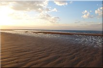 NU0944 : Part of Goswick Sands by DS Pugh