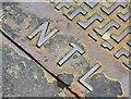J3373 : NTL/Brickhouse access cover, Belfast - July 2015(2) by Albert Bridge
