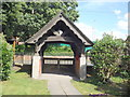 SJ6146 : St Andrew's Lych gate by Garry Lavender-Rimmer