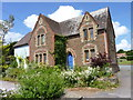 SO6648 : House with greenery, Bishop's Frome by Jeff Gogarty