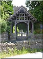 SO6648 : Lych Gate, St Mary's Church, Bishop Frome by Jeff Gogarty