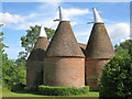 TQ9947 : Oast House at Court Lodge, The Street, Westwell : Week 28