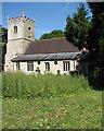 TL6459 : Stetchworth: St Peter's Church and churchyard by John Sutton