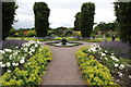 SJ6780 : The Walled Garden at Arley Hall by Jeff Buck