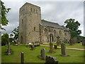 NT1477 : Lothian Architecture : Dalmeny Kirk by Richard West