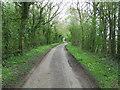 TM3683 : Minor Road by Keith Evans
