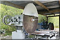 NY3224 : Threlkeld Quarry & Mining Museum - circular saw by Chris Allen