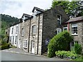 SH7507 : Houses on Maes yr Orsaf, Corris by Christine Johnstone