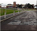 ST3095 : Woodland Road entrance to Croesyceiliog School, Cwmbran by Jaggery
