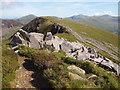 SH5452 : The Path Below Mynydd Drws-y-coed : Week 32