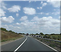 TL1051 : A421 Slip Road by Adrian Cable