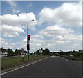 TL1657 : A428 Great North Road, Wyboston by Adrian Cable