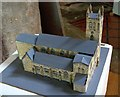 TF0919 : A model church at Bourne, Lincolnshire by Rex Needle