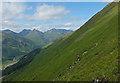 NH0114 : Steep slope below the Bealach an Lapain : Week 32