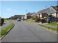 TV4999 : Northeast end of Upper Sherwood Road, Seaford by Robin Stott