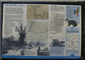 TL5072 : The Old West River information board by Hugh Venables