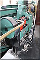 SK0319 : Brindley Bank Pumping Station - barring engine by Chris Allen