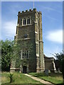 SP9536 : St James' Church, Husborne Crawley by JThomas