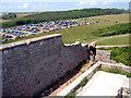 SS8872 : Castell Dwnrhefn / Dunraven Castle by Alan Richards