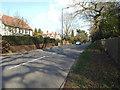 SP1098 : East on Streetly Lane, Four Oaks by Robin Stott