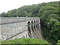 SX5567 : One of the dams of the Burrator Reservoir by Peter