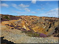 SH4390 : Great opencast from the viewing point on Parys Mountain by Richard Hoare