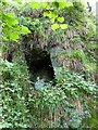 SX4371 : An exploratory hole created by 19th century copper miners by David Smith