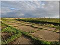 TL5668 : Hardstanding at Burwell Fen Farm by Hugh Venables