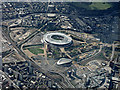 TQ3784 : Queen Elizabeth Olympic Park from the air by Thomas Nugent