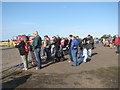 TM3295 : Spectators at the Seething Charity Air Day by Evelyn Simak