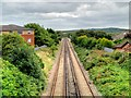 SJ2992 : The Wirral Line at Wallasey by David Dixon