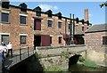 SE3231 : Tail-race bridge at Thwaite Mill by Alan Murray-Rust
