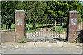 TQ5940 : Gates to King George V Fields by N Chadwick