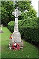 TL3044 : St Michael, Abington Pigotts - War Memorial by John Salmon