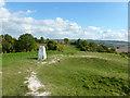 SP9722 : Summit of Castle Hill, Totternhoe by Robin Webster