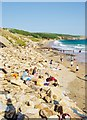 SW5727 : Praa Sands, Cornwall by Eugene Birchall