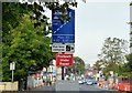 J3674 : EWAY works, Upper Newtownards Road, Belfast - September 2015(2) by Albert Bridge