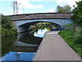 SP1190 : Wood Lane Bridge crossing the Birmingham & Fazeley Canal by Mat Fascione