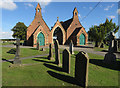 SE9318 : Cemetery, Winterton, N Lincs by Paul Harrop