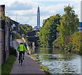 SP0989 : Cycling along the Birmingham & Fazeley Canal : Week 39