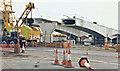 J3474 : Weir and cross-harbour bridges, Belfast -  October 1993(1) by Albert Bridge