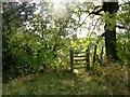 SD7412 : Gate on a footpath by Philip Platt