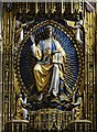 TG1001 : Wymondham Abbey: The magnificent Comper screen 2: Christ in Majesty : Week 41