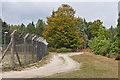 SU8357 : MOD compound, Hawley Common by Alan Hunt