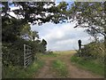 SW7128 : Gate to field at top of Naphene Down by David Smith