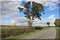SP7906 : Lane near Little Meadle by Des Blenkinsopp