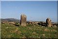 NJ5527 : Ardlair Recumbent Stone Circle (5) by Anne Burgess