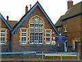 SP0488 : Benson Community School � detail by Alan Murray-Rust