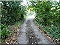 SW6228 : Bridge across a stream by Richard Law