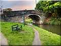 SD5407 : Leeds and Liverpool Canal, Gathurst Bridge by David Dixon